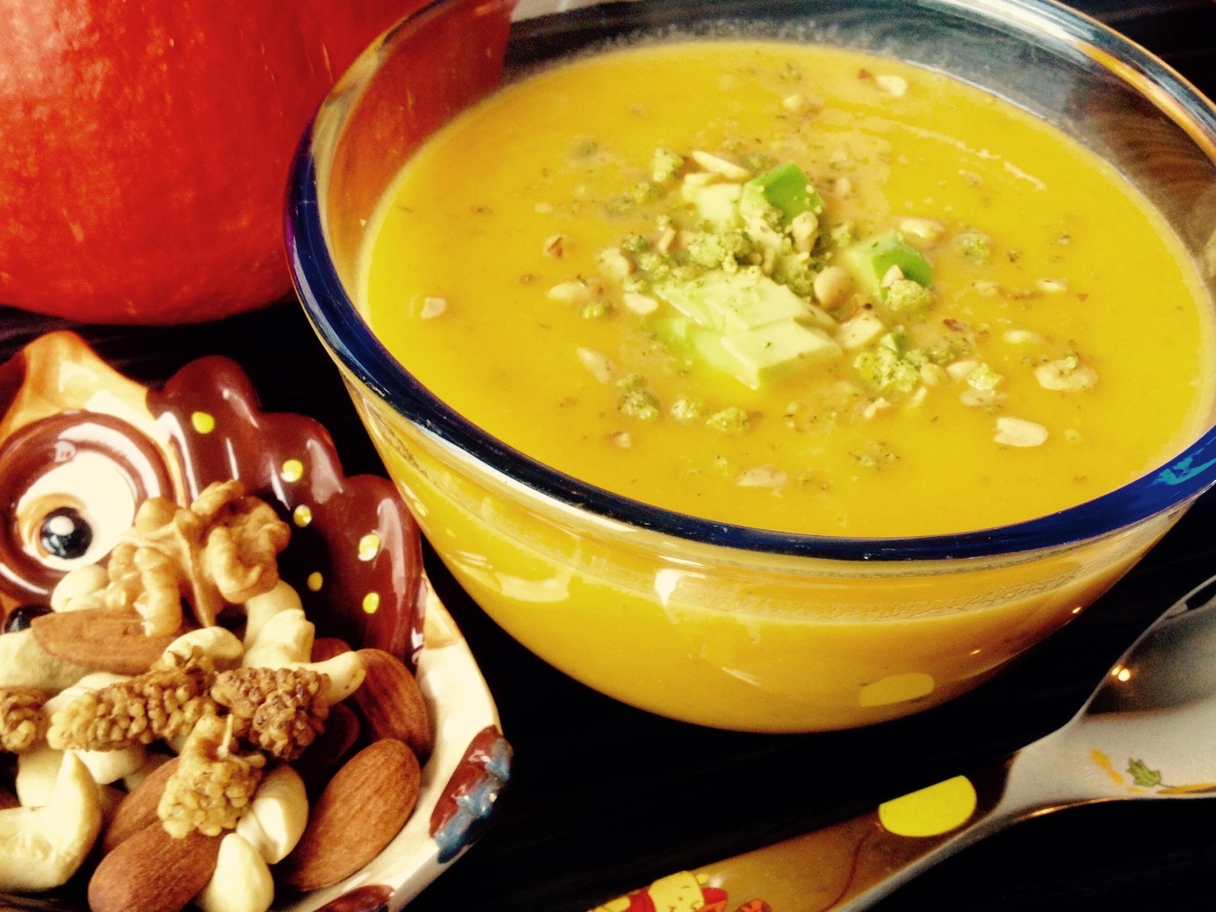 Kuerbis-Kartoffel-Suppe